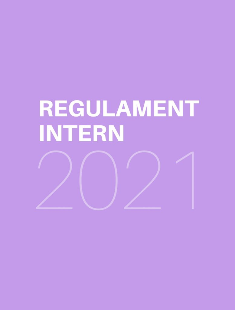 REGULAMENT  INTERN 2021