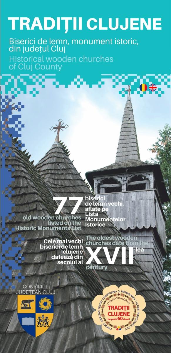 Biserici de lemn, monument istoric, din județul Cluj