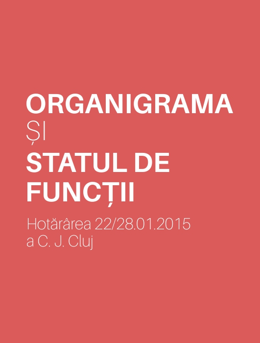 Organigrama și Statul de Funcții