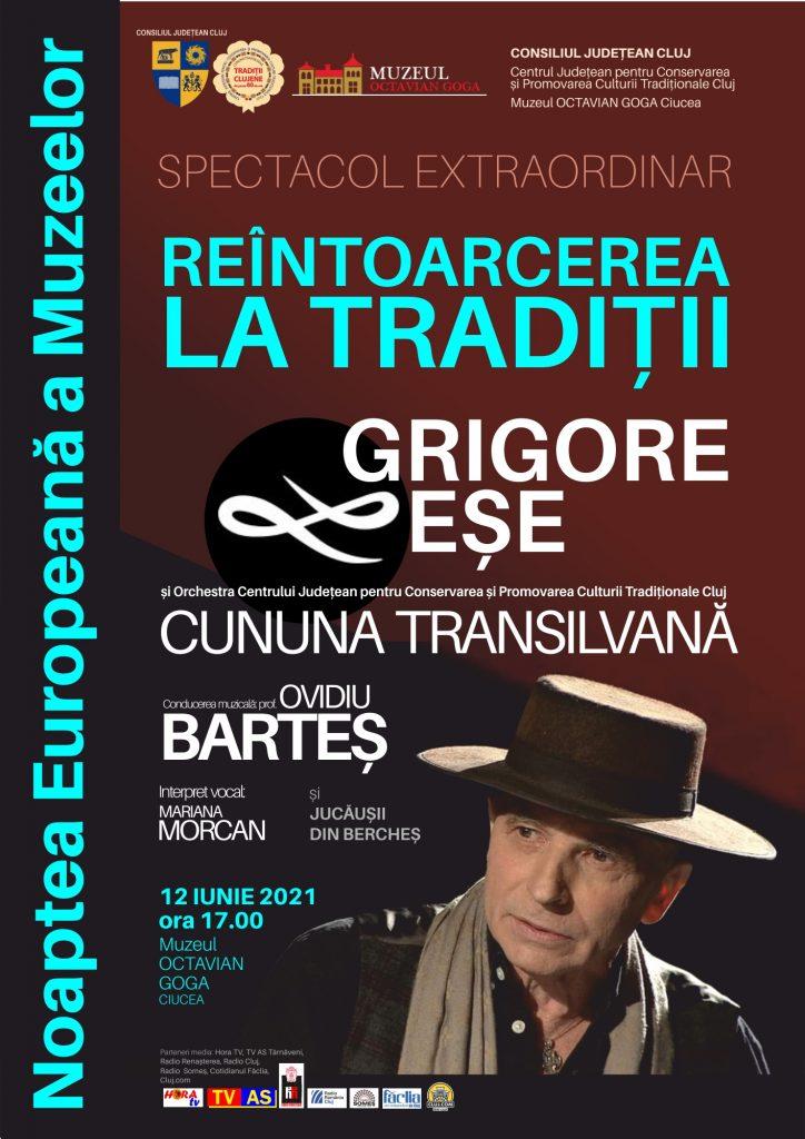 """Muzică tradițională la Muzeul """"Octavian Goga"""" din Ciucea, de Noaptea Europeană a Muzeelor"""